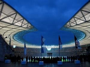 Berliner Olympiastadion Foto: flickr.com/t.klick